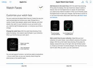 Apple Watch User Guide Now Available As A Convenient Download From The Ibooks Store