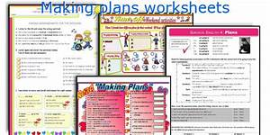 English Teaching Worksheets  Making Plans