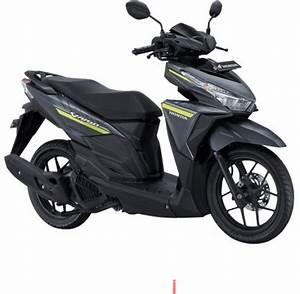 Honda Vario 125 Esp Cbs Iss Vigor Black