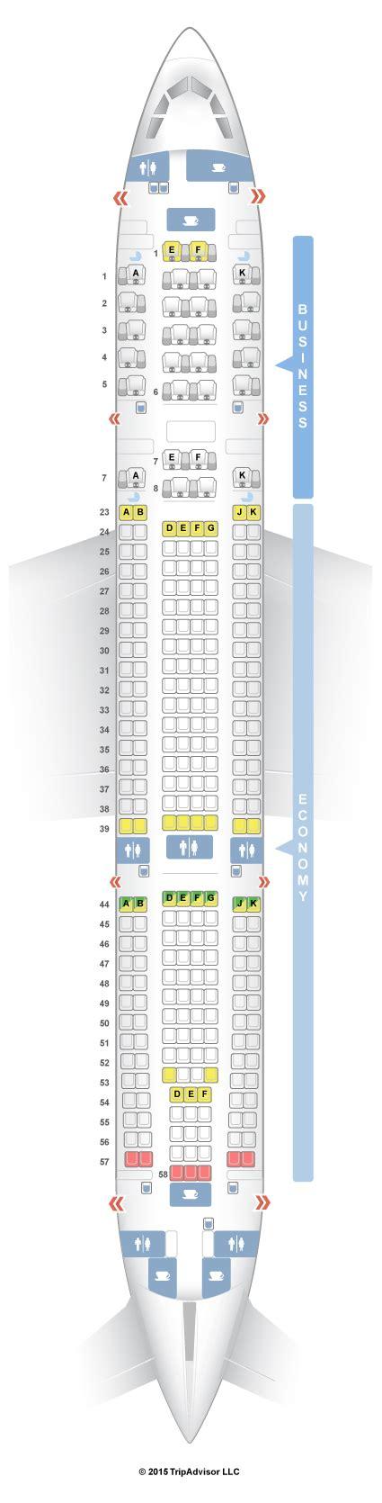 plan siege a380 seatguru seat map qantas airbus a330 200 332 domestic