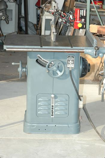 delta cabinet saw for sale delta unisaw 10 quot tilting arbor circular saw 1949