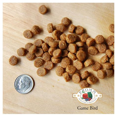 game bird dog food fromm family foods