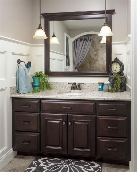 dark wood bathroom vanity bathroom ideas bathroom