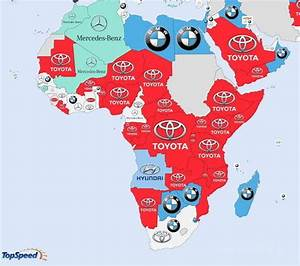 Detailed Infographic Shows World's Most Searched Carmakers