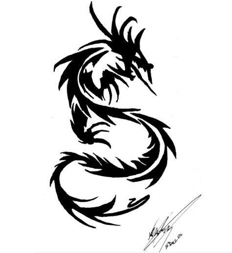 dragon tattoo tribal dragon tattoo