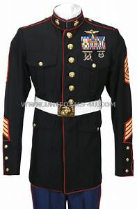 USMC ENLISTED DRESS BLUE UNIFORM
