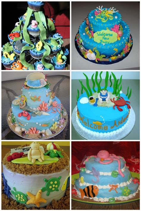 sea baby shower cakes aa gifts baskets idea blog