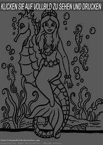 Meerjungfrauen 3 Ausmalbilder Kostenlos