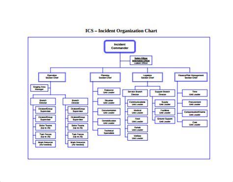 org chart template docs sle ics organizational chart 8 documents in pdf
