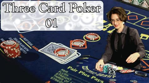 How To Bet On Three Card Poker & Poker Hand Rankings Youtube