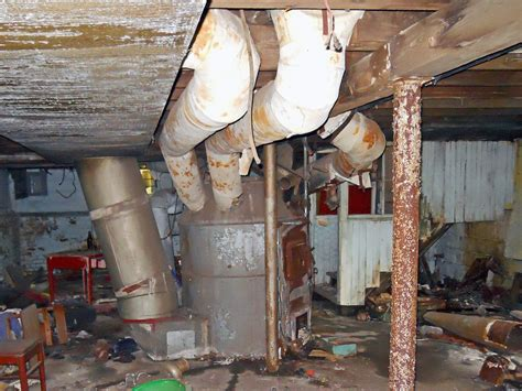 home heating unit  asbestos ducts