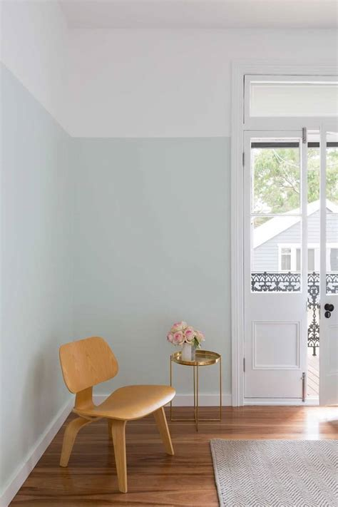 painted wall inspiracao parede  duas cores