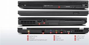 Lenovo T420 Ports Diagram