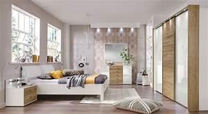 Design Schlafzimmer Komplett : edles komplett schlafzimmer in wei und eiche massiv koga ~ Bigdaddyawards.com Haus und Dekorationen