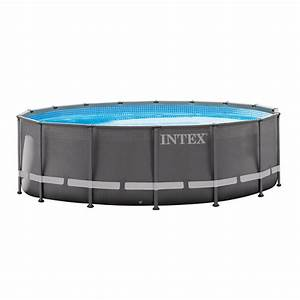Intex 16 U0026 39  X 48 U0026quot  Ultra Frame Swimming Pool Set W   1200 Gph Sand Filter Pump