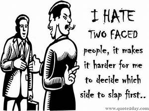 Two Faced Quotes. QuotesGram