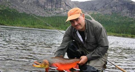 cuisiner l omble chevalier pêche aux gros ombles rouges de l ungava rapid lake