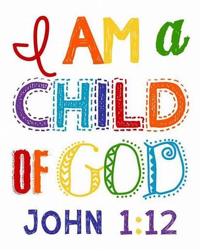 Children Nursery Sunday God Church Child Am