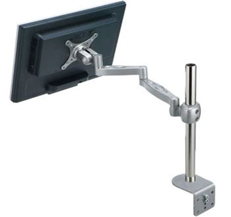 Monitor Stands For Desk Uk by Mdm04 Single Led Lcd Monitor Stand W Swivel Arm Desk