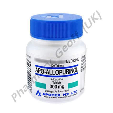 allopurinol apo allopurinol mg  tablets