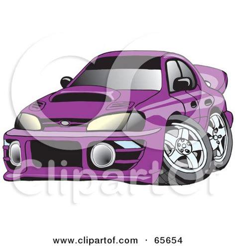 dark purple subaru royalty free transport illustrations by dennis holmes