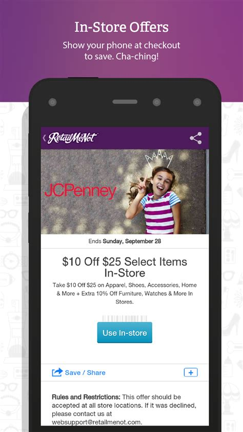 60391 Inc Coupons by Retailmenot Coupons Appstore For Android