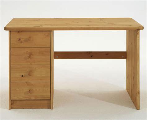 Schreibtisch Holz Natur by Schreibtisch 120x75x68cm 4 Schubladen Kiefer Massiv