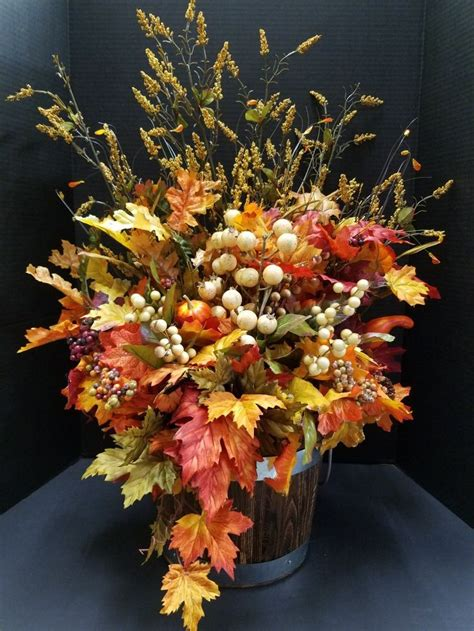 how to decorate office at fall leaves and berries in for your home or office