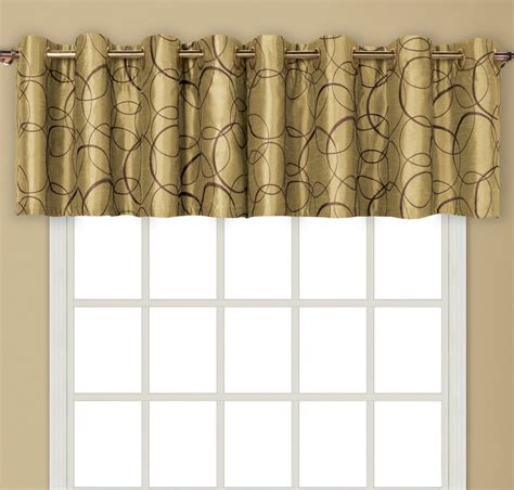 Grommet Valance by Sinclair Lined Grommet Valance Burgundy United