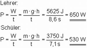 Watt Berechnen Formel : oberstufenphysik die leistung ~ Themetempest.com Abrechnung