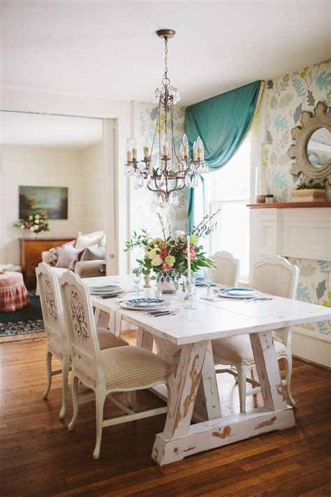 beautiful shabby chic dining room designs