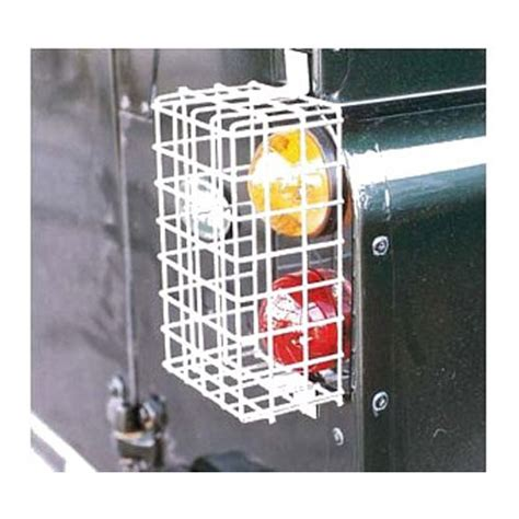wire mesh rear lamp guards  land rover series