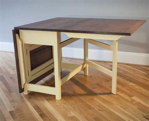modern gateleg table popular woodworking magazine