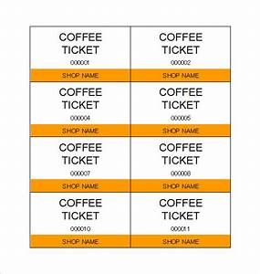 free drink ticket template dtk templates With complimentary drink ticket template