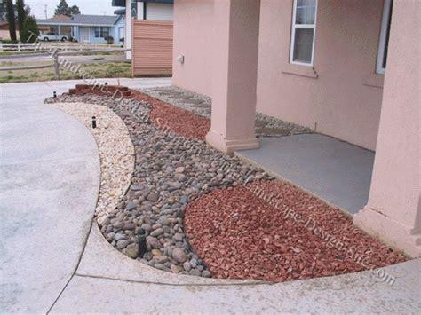 Decorative Gravel Landscaping - decorative rocks for landscaping landscape channel