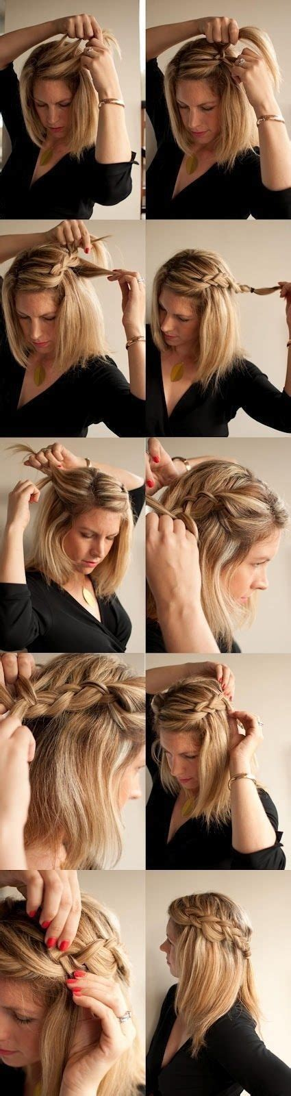 Easy To Do Hairstyles by Easy To Do At Home Hairstyles