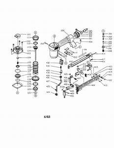 Porter Cable Narrow Crown Stapler Parts