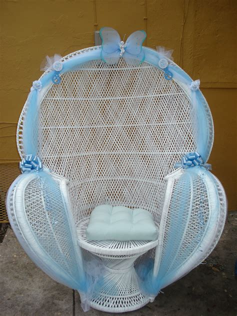 Decorating Chair For Baby Shower - baby shower chairs on balloon arch rocking