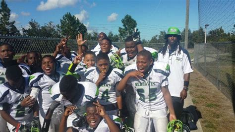 local youth football league wins national youth football