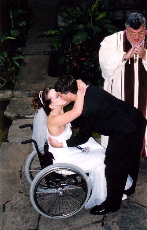 wheelchair mommys wedding