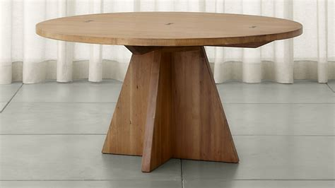 crate and barrel round dining table monarch 60 quot solid walnut round dining table crate and barrel