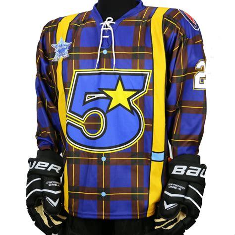 kobe kg sublimated hockey jerseys pro leve sublimation