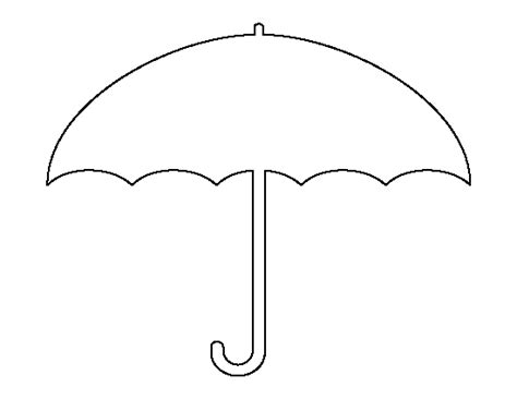 Printable Umbrella Template For Preschool - Costumepartyrun