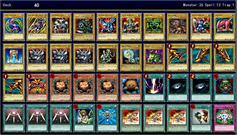 Gate Guardian Deck Legacy Of The Duelist by Yami Yugi Decks Legacy Of The Duelist 1st Ygoprodeck