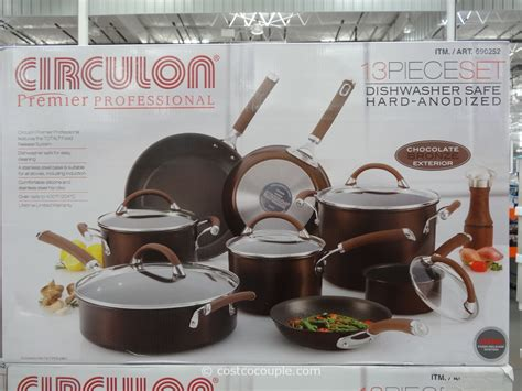 circulon cookware anodized piece hard costco vary subject pricing inventory change any