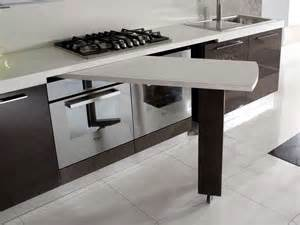 Tavolo sottopiano per la mini cucina il progetto in una stanza casa design