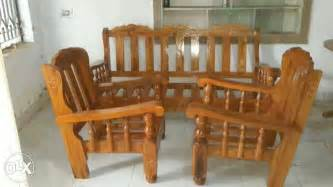 Best Fabric For Sofa In India by Gorgeous Mysore Teak Wood Sofa Set Direct From Bengaluru