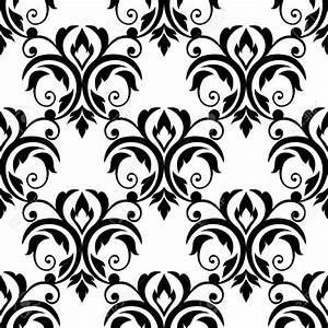 Black And White Flower Wallpaper Designs