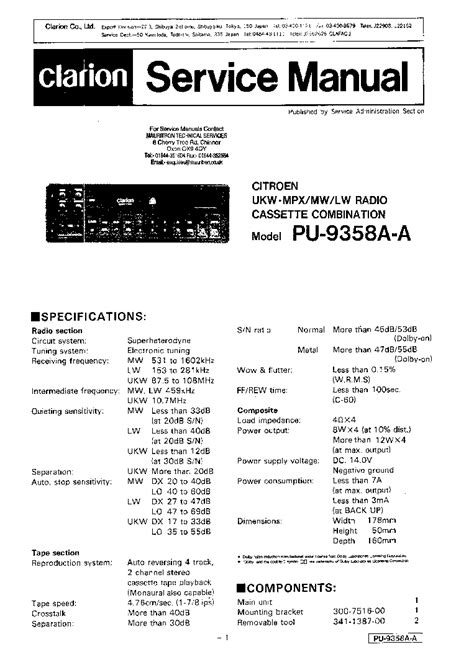 Clarion Dxz655mp Wiring Diagram by Clarion Cz100 Driverlayer Search Engine