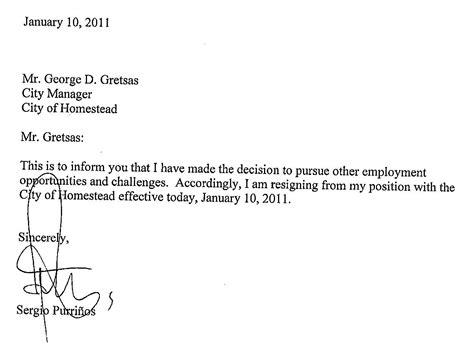 job resignation letter writing letters  resignation